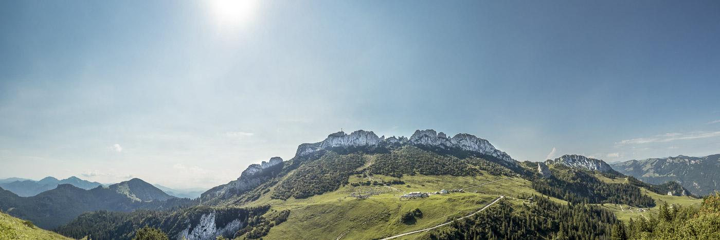 Die Kampenwand, der Hausberg der Chiemgauer Alpen